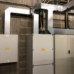 uninteruptable power supply trunking installation